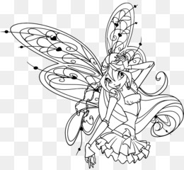 Kleurplaten Winx Enchantix.Winx Club Believix In You Bloom Drawing Kleurplaat Winx Club