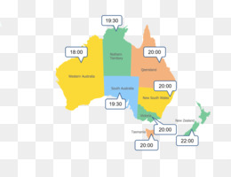 Australia Map Time Zones.Free Download Australia New Zealand World Map Time Zone Others Png