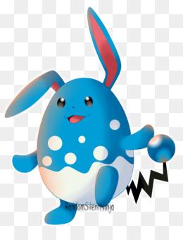 Free Download Azurill Domestic Rabbit Azumarill Evolution Rabbit Png