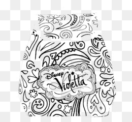 Drawing Coloring Book Violetta