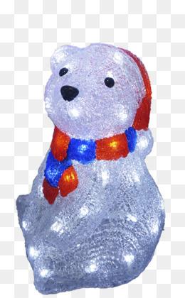 polar bear christmas lights light emitting diode polar bear