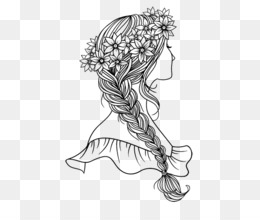 Free Download Drawing Coloring Book Braid Royalty Free Coloring
