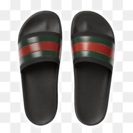 97fa1011a34581 Free download Slide Flip-flops Gucci Sandal Shoe - sandal png.