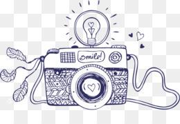 Drawing Camera Photography Sketch Camera 500500 Transprent Png