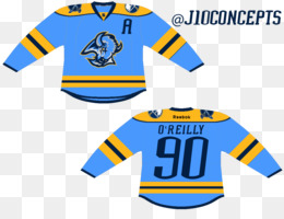 Third jersey Buffalo Sabres Buffalo Bisons KeyBank Center - Buffalo ... fa59e5c0e