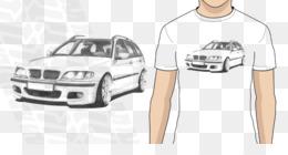 85d0c9d0c716 Free download T-shirt BMW 3 Series (E46) Car Bumper - bmw e46 png.