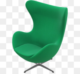 Egg Eames Lounge Chair Barcelona Chair Wing Chair   Office Top View Png  Download   662*600   Free Transparent Green Png Download.