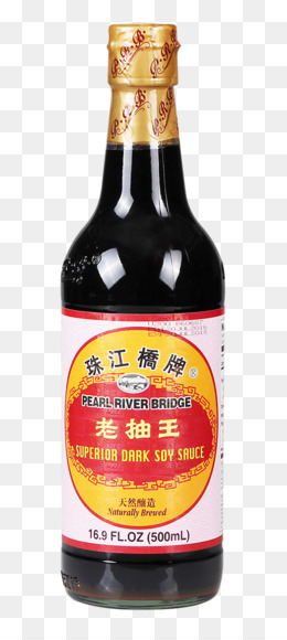 And asian sauces with beer