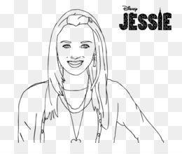 jessie the show coloring pages - photo#21