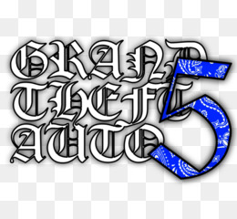 Grand Theft Auto V, Logo, Crips, Text PNG image with transparent background