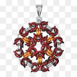 Charms Pendants Byzantine Chain Mail