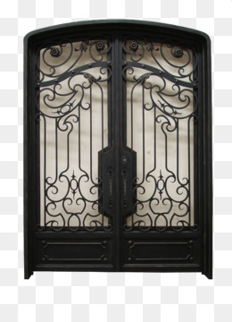 Wrought Iron Window Door Gate   Iron Png Download   586*780   Free ...