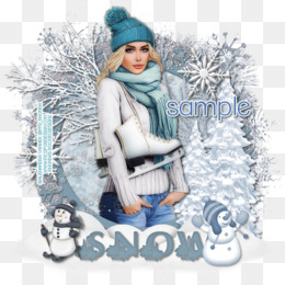 Winter, Snow PNG image with transparent background