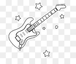 Scaricare Gratuito Strumenti Musicali Disegno Chitarra Libro Da