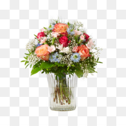 Flower Bouquet Cut Flowers PNG Image With Transparent Background