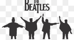 The Beatles Silhouette Abbey Road Image