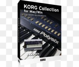 Free download Korg Polysix Korg Mono/Poly Korg MS-20 Korg M1 - long