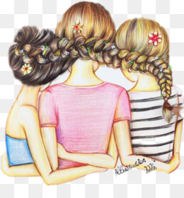 Best Friends PNG Transparent Clipart Free Download