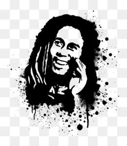 Gambar Wajah Bob Marley Hitam Putih Gambar Keren Hits