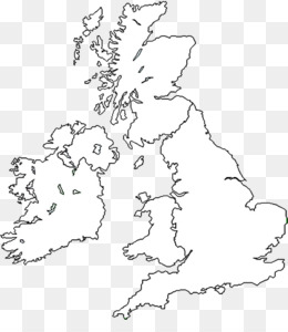 Free download Great Britain British Isles Blank map World map - map png.