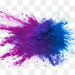 Holi, Color, Holi Colors, Blue, Violet PNG image with transparent background