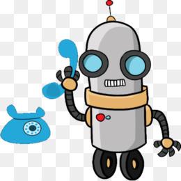 Free Download Robotics Clip Art Cartoon Vector Graphics Robot Png