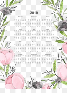 Borders And Frames, Paper, Convite, Calendar, Flora PNG image with transparent background