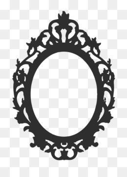 Picture Frames Vintage Clothing Mirror Drawing Clip Art