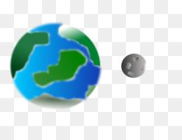 earth moon euclidean vector vector fantasy moon png download rh kisspng com planet earth sun and moon clip art Earth and Moon Cartoon