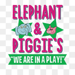 Elephant And Piggie PNG - elephant-and-piggie-coloring-pages