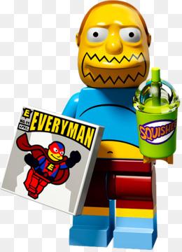 Free download Lisa Simpson Comic Book Guy Lego Minifigures