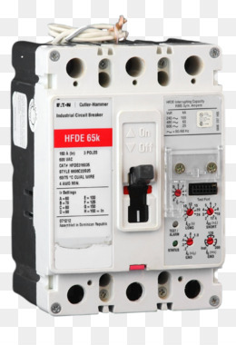 circuit breaker, distribution board, electrical network, technology,  electronic component png image with