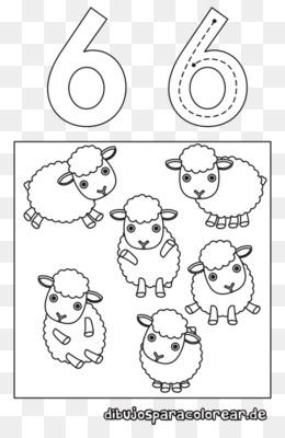 Download Gratis Buku Mewarnai Line Art Grafis Mamalia Nomor Angka