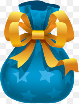 Gift, Christmas Day, Christmas Gift, Blue, Yellow PNG image with transparent background