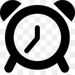 Free download Alarm Clocks Black And White png