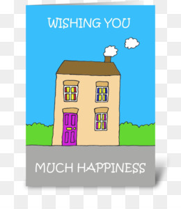 Greeting Note Cards Post House Happy New Home Gift
