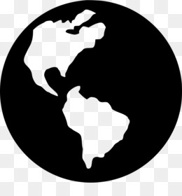 Earth, Computer Icons, Royaltyfree, Black And White, Silhouette PNG image with transparent background