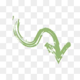 Arrow, Logo, Graphic Design, Green, Leaf PNG image with transparent background