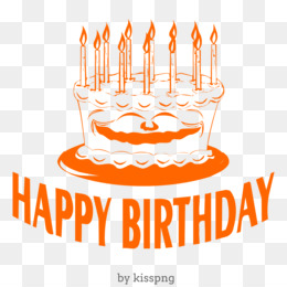 Happy Birthday Cake Transparent Clipart
