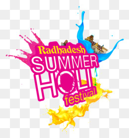 Logo, Holi, Festival, Text, Graphic Design PNG image with transparent background
