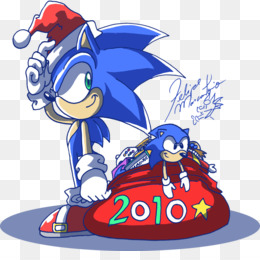 Sonic Classic Collection, Sonic The Hedgehog, Santa Claus, Red, Mammal PNG image with transparent background