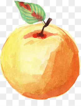 Apple, Watercolor Painting, Fruit PNG image with transparent background