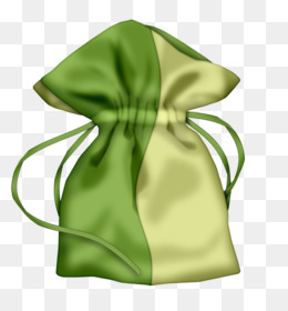 Bag, Graphic Design, Gift, Green, Silk PNG image with transparent background