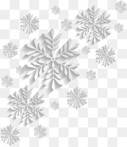 Snowflake, Snowflake Schema, Snow, White, Black And White PNG image with transparent background