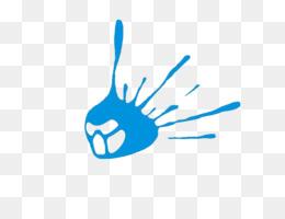 Logo, Finger, Desktop Wallpaper, Blue, Hand PNG image with transparent background