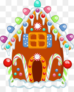 Gingerbread House, Gingerbread House Making Party, Decorate A Gingerbread House, Food PNG image with transparent background