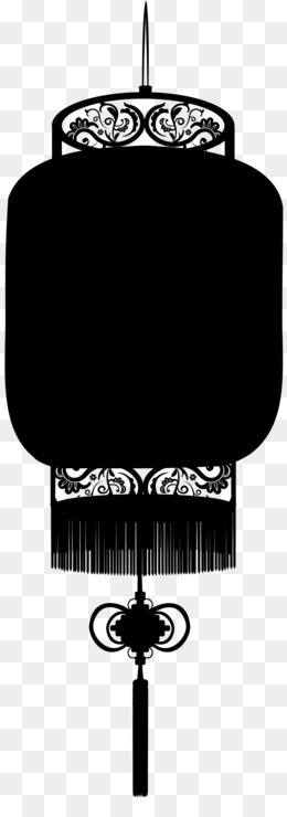 Paper Lantern, Paper, Lantern, Line, Blackandwhite PNG image with transparent background