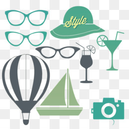 2c98a947229 Vector graphics Sunglasses Clip art Illustration - aestivum silhouette.  Download Similars