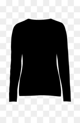 Sleeve, Tshirt, Longsleeved Tshirt, Clothing, Black PNG image with transparent background