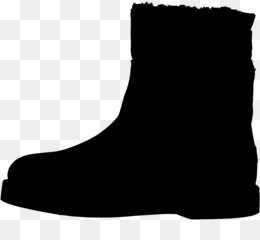 Shoe, Boot, Walking, Footwear, Black PNG image with transparent background